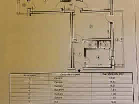 Apartament de vânzare 3 camere în Constanta, Central