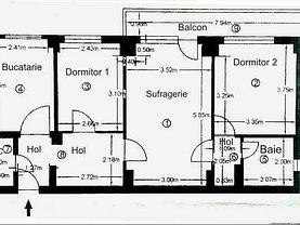 Apartament de vânzare 3 camere, în Bucuresti, zona Alexandru Obregia