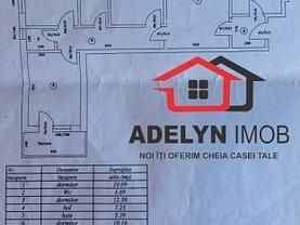 Apartament de vânzare 4 camere în Tulcea, 23 August