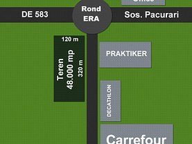 Teren constructii de vânzare, în Iasi, zona Pacurari