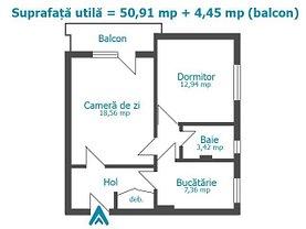 Apartament de vânzare 2 camere în Ploiesti, Baraolt