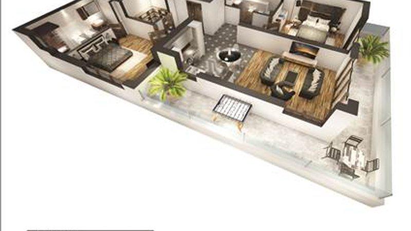 Vanzare apartament 3 camere etajul 2 bloc nou, Centrul Istoric Brasov