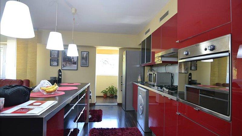 Exclusivitate Apartament 3 camere mobilat de lux,etajul 3,Racadau, Brasov