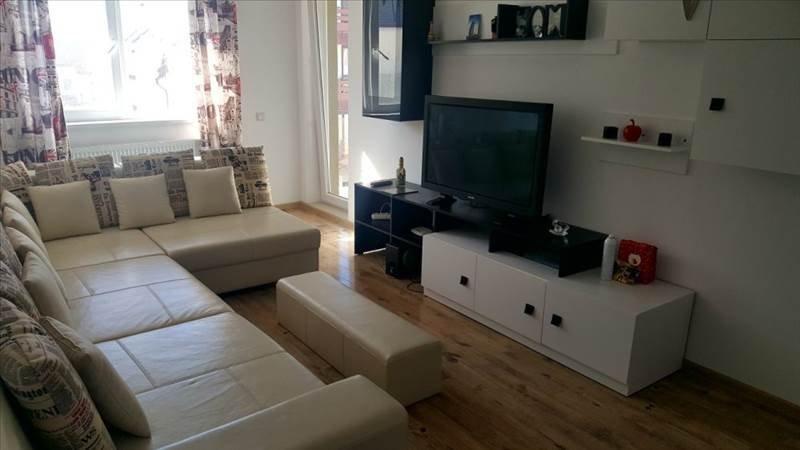 Apartament 2 camere mobilat-utilat bloc nou Tractorul, Brasov