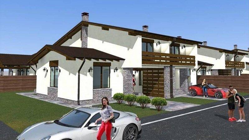 Vazanre casa tip duplex, Tarlungeni, Brasov