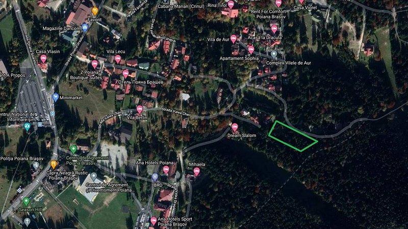 Vanzare teren in Poiana Brasov, Zona A