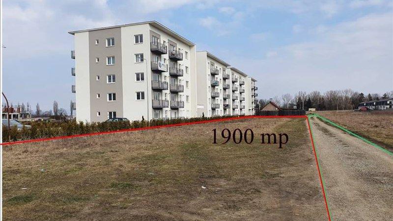 Teren pentru bloc. 1900 mp. Tractorul, Brasov