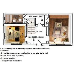 Apartament de vânzare 2 camere în Brasov, Drumul Poienii
