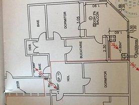 Apartament de vânzare 3 camere în Tulcea, Spitalului