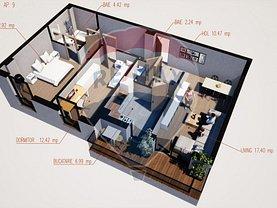 Apartament de vânzare 3 camere în Ramnicu Valcea, Agrement Ostroveni