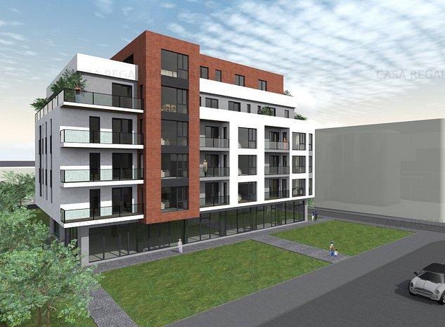 Apartament 2 camere - 52.45 mp - imaginea 1