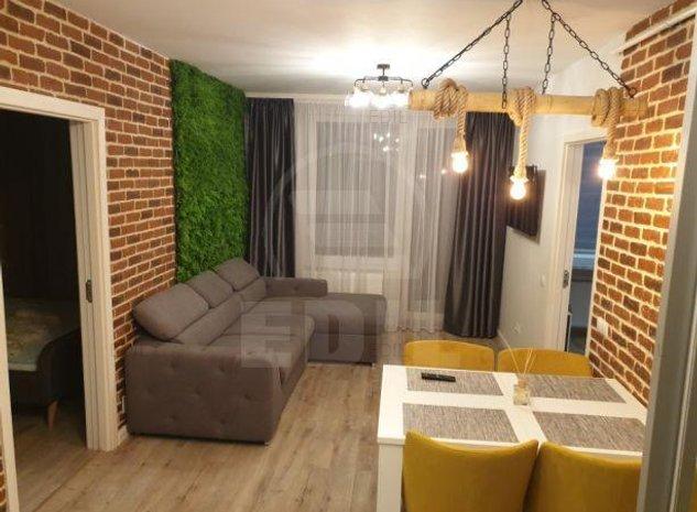Inchiriere Apartament 2 camere semidecomandat, 52 mp, Etajul 5 din 11
