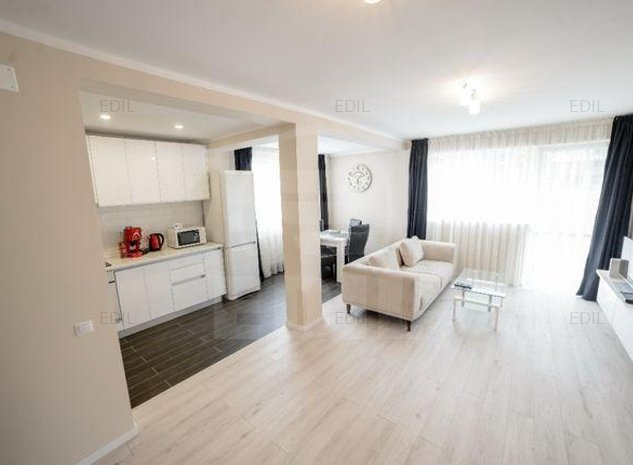 Inchiriere Apartament 2 camere semidecomandat, 55 mp, Etajul 1 din 2