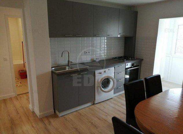 Inchiriere Apartament 2 camere decomandat, 52 mp, Etajul 2 din 4