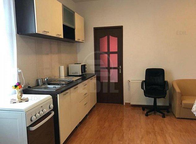 Inchiriere Apartament 2 camere semidecomandat, 42 mp, Etajul 3 din 7