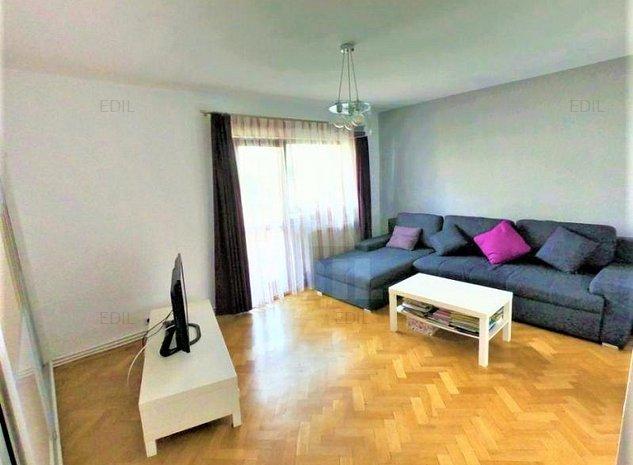 Vanzare Apartament 3 camere semidecomandat, 65 mp, Etajul 2 din 4
