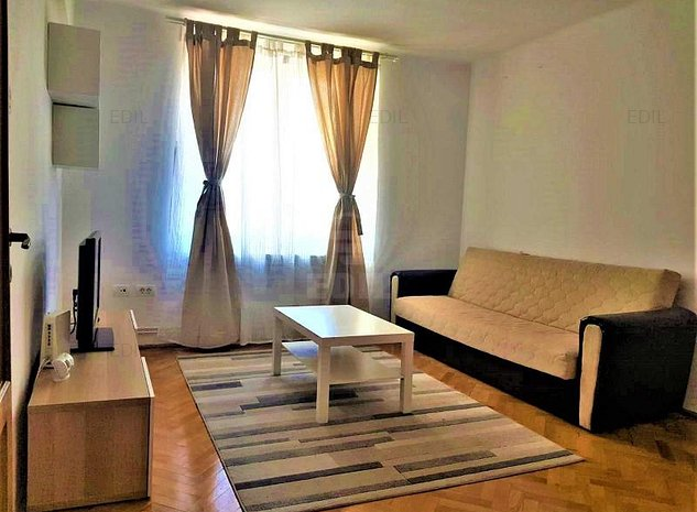 Inchiriere Apartament 1 camera decomandat, 34 mp, Etajul 2 din 4