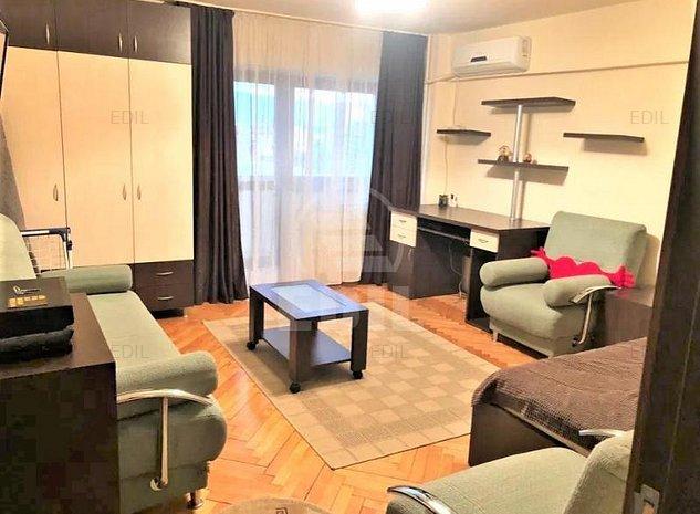 Inchiriere Apartament 1 camera decomandat, 40 mp, Etajul 7 din 10