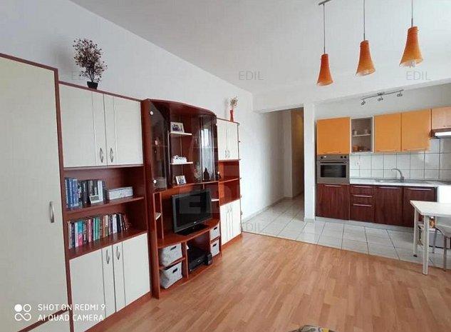 Vanzare Apartament 1 camera semidecomandat, 35 mp, Etajul 8 din 11