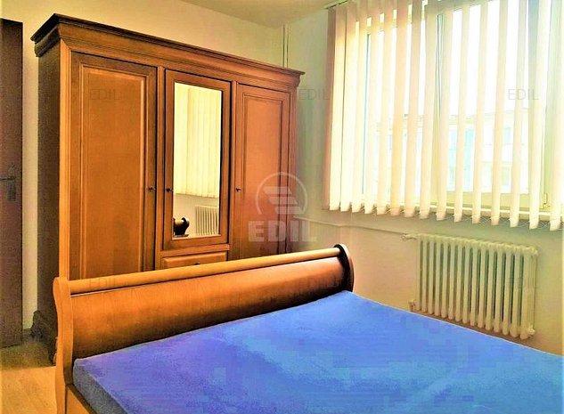 Inchiriere Apartament 2 camere decomandat, 52 mp, Etajul 3 din 4