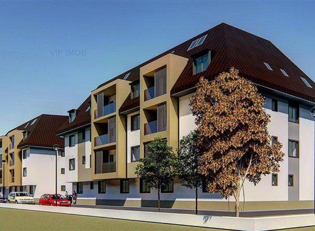 Apartament 3 camere bloc nou Tractorul finalizat - imaginea 1