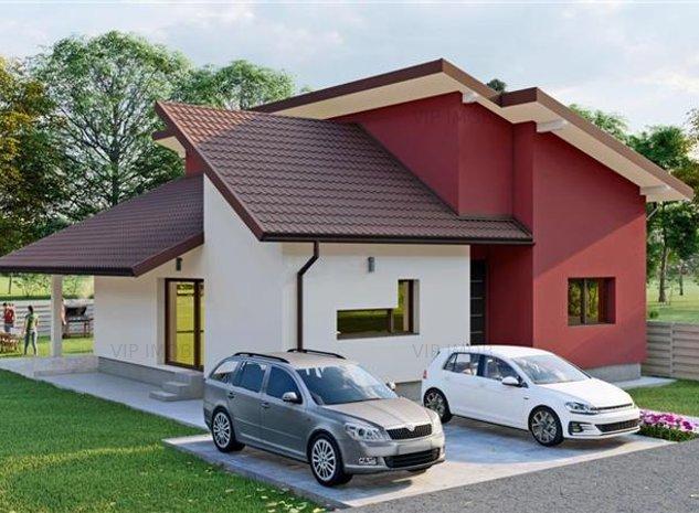 Casa individuala in cartier Izvor Tarlungeni 109mp utili 400mp teren - imaginea 1