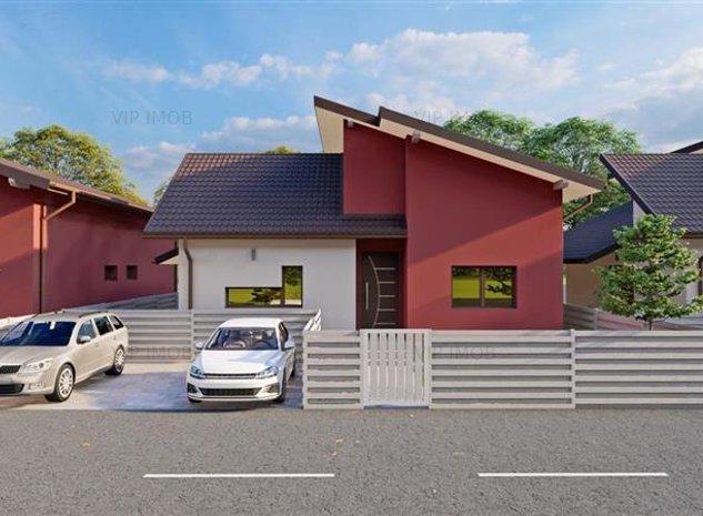 Casa individuala in cartier Izvor Tarlungeni 109mp utili 2471mp teren - imaginea 1