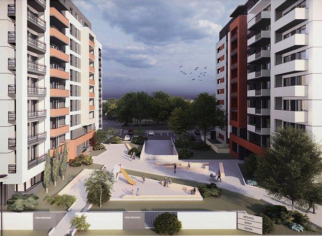 Apartament nou de vanzare cu terasa de 10 mp in Ansamblul rezidential IRIS - imaginea 1