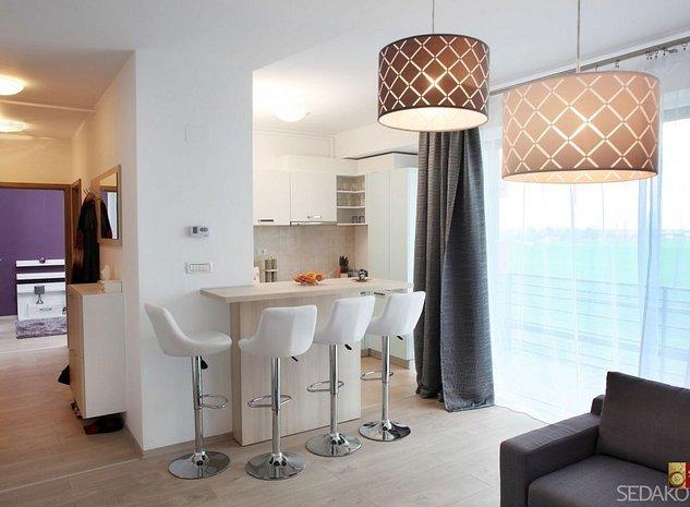 Apartament nou, complet decomandat, vedere pe doua parti - imaginea 1