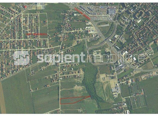 Sapient/Teren arabil zona cartierul Grigorescu - imaginea 1