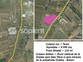 Teren constructii de vânzare sau de închiriat, în Biharia