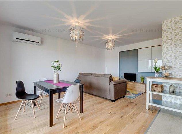Apartament 2 camere, elegant, LaRa Condominium, acces facil DN1 - imaginea 1