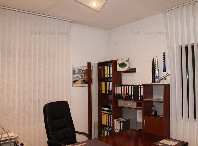 De inchiriat casa parter, 3 camere si anexe, Zona Aradului pentru birouri - imaginea 1