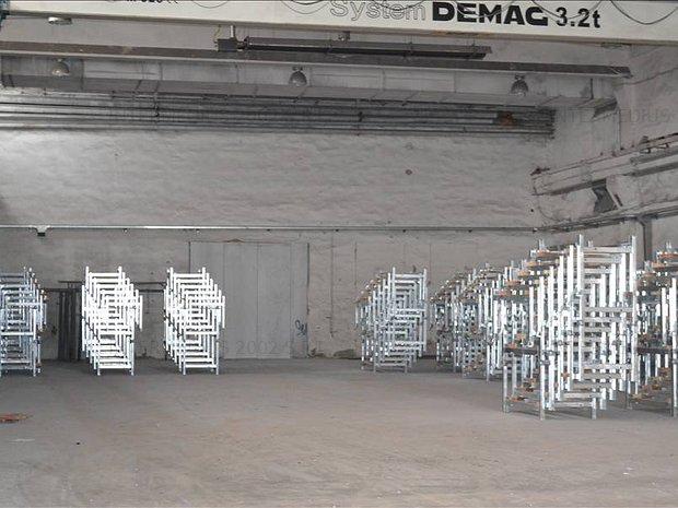Hala industriala de 860 mp de inchiriat in Calea Buziasului - imaginea 1