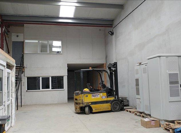 Spatiu microproductie sau depozitare si birouri finisate - imaginea 1