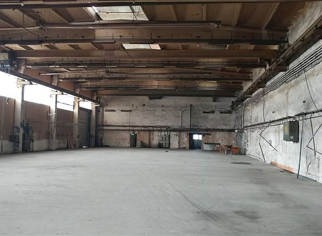 Hala industriala cu pod rulant - imaginea 1