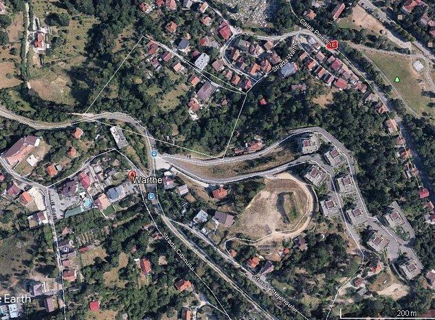 Teren 7172 mp, Livada Postei-Drumul Poienii pretabil locuinte colective P+2E+M. - imaginea 1