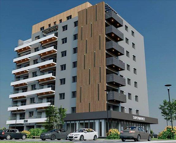 Apartament 2 camere Avantgarden 58100 euro - imaginea 1