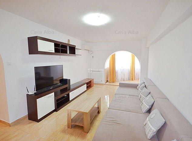 Centru - Stefan cel Mare, 3 camere mobilat si utilat, liber - imaginea 1