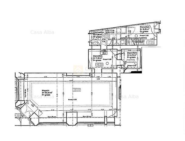 Piata Unirii - Select, 80mp, 15 m vitrina - imaginea 1