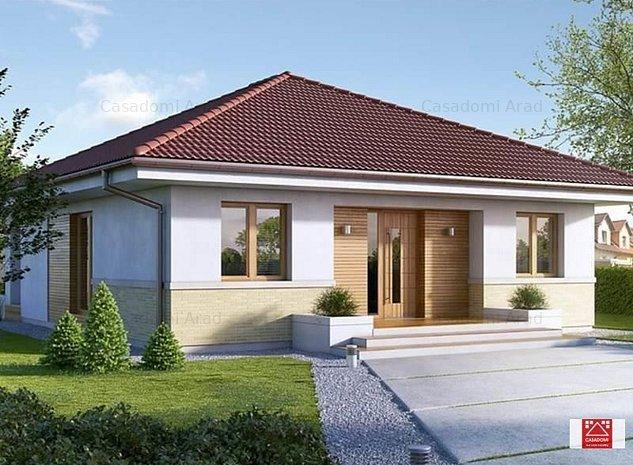 Casa la sol in Sanleani! Ultimele 4 case disponibile! - imaginea 1