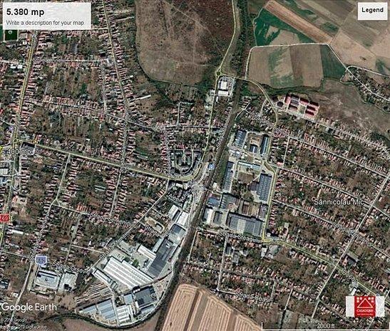 Teren pentru proiect rezidential sau servicii in Aradul Nou - imaginea 1