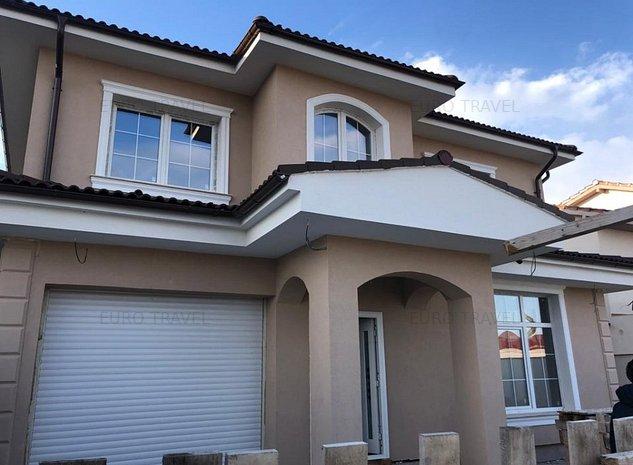 casa P+1 , an 2021 , teren 423 mp, garaj, foisor , la 80 m de lac - imaginea 1