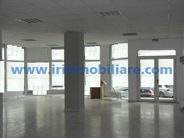 Birou 170mp open space, centrala gaz, central, intrare separata, 999E/luna - imaginea 1