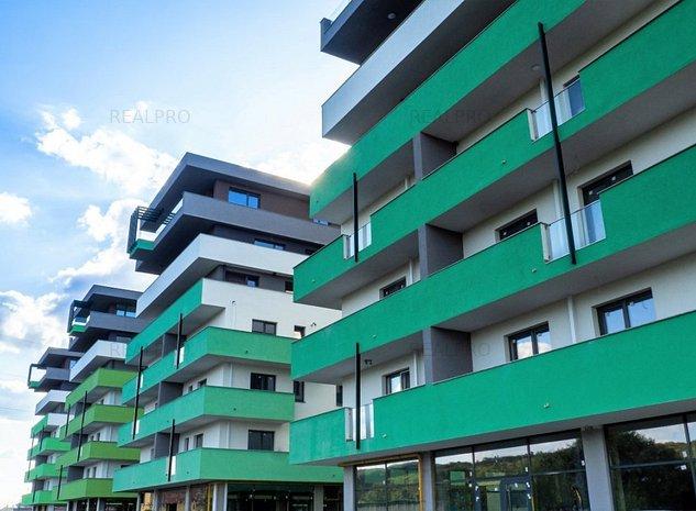 Green City Residence - langa Mall, 2 camere, bloc 2019, balcon 11 mp  - imaginea 1