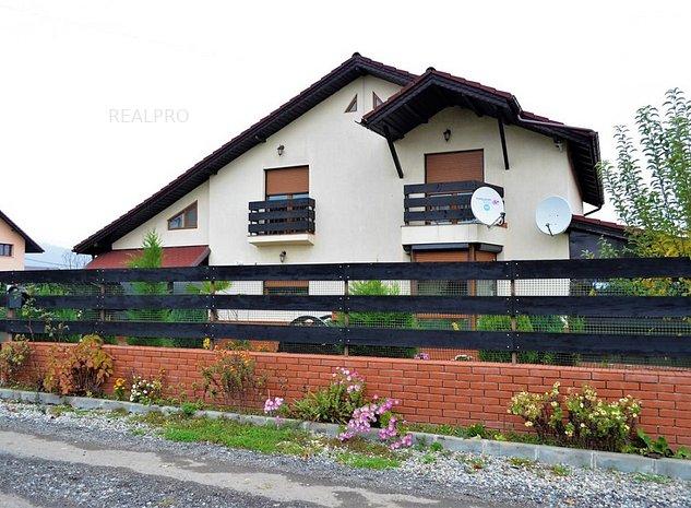Bujoreni - Olteni, Vila la cheie cu 3 dormitoare, teren 540 mp, garaj - imaginea 1