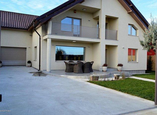 Bradu- Geamana, casa noua la cheie, 4 dormitoare si birou, 3 bai. - imaginea 1