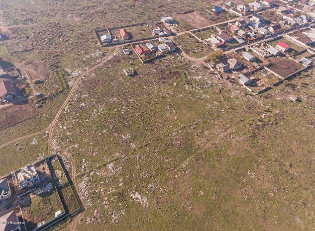 Bragadiru - Cartierul Verde, teren constructii 4 hectare! - imaginea 1