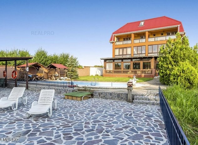 Snagov Lac - Pensiune 16 camere, restaurant, debarcader, lot 4000 mp! - imaginea 1