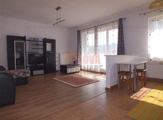 Central, bloc nou, apartament mobilat si utilat 350Euro/luna - imaginea 1